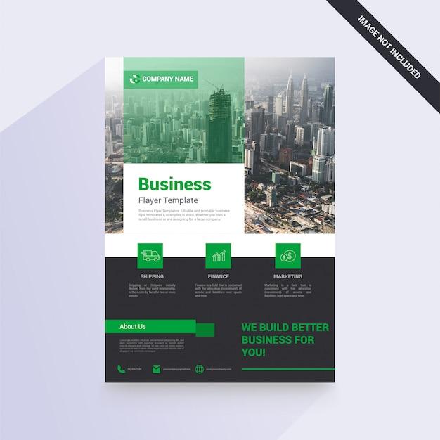 Geschäftsbroschüre für ihre firma Premium Vektoren