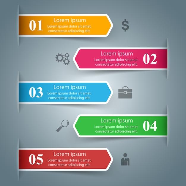 Geschäftsinfografik Premium Vektoren