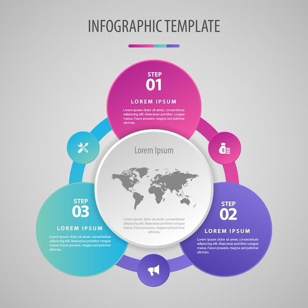 Geschäftsinfografiken. design minimalistisch und flach. unternehmensstatistik Premium Vektoren