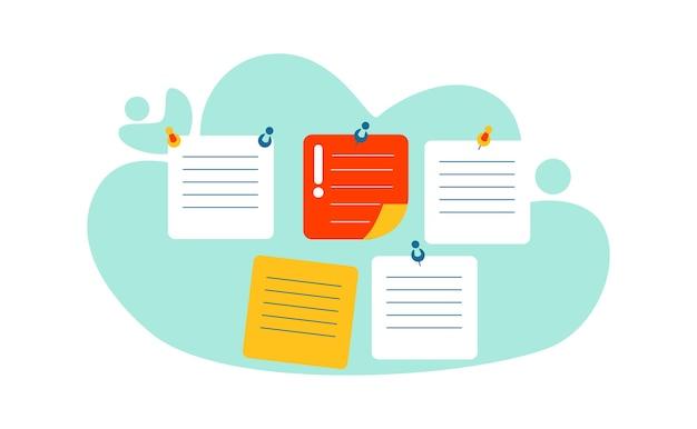 Geschäftskonzept für termin- und zeitmanagement Kostenlosen Vektoren