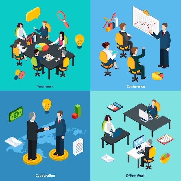 Geschäftskonzept zeichen Premium Vektoren
