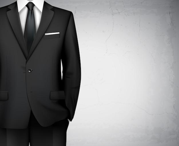 Geschäftsmannklagehintergrund mit copyspace Premium Vektoren