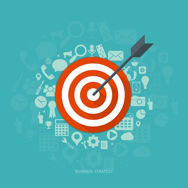Geschäftsstrategie Kostenlosen Vektoren
