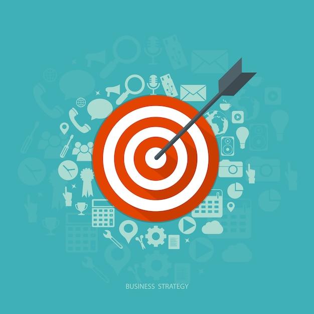 Geschäftsstrategie Kostenlose Vektoren