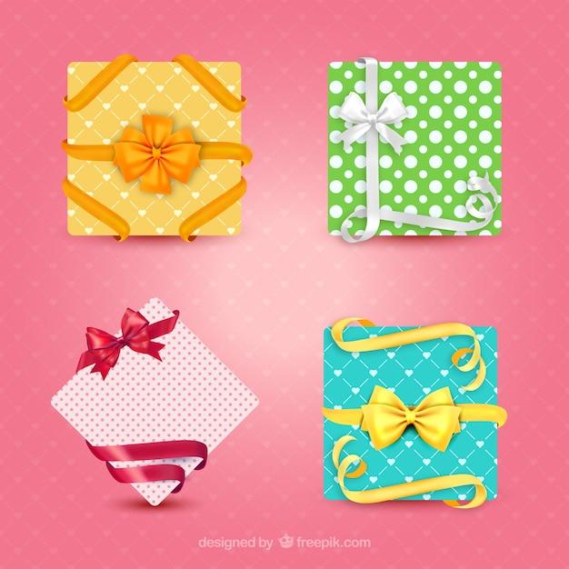 Geschenkkarten Kostenlosen Vektoren