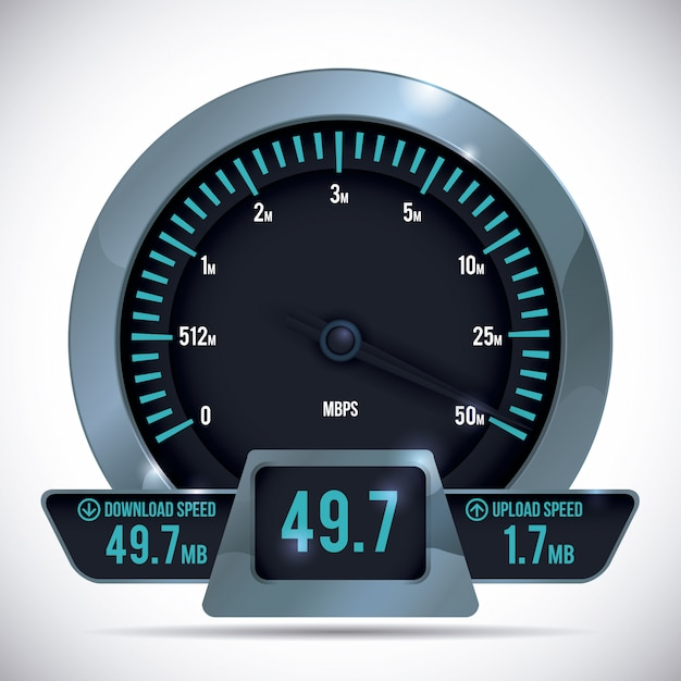 Geschwindigkeitsentwurf. Premium Vektoren