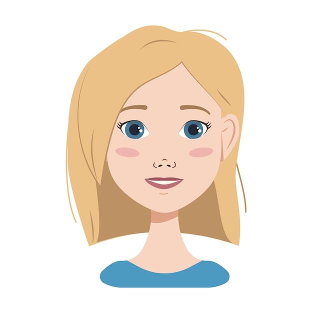 Blaue augen haare frau blonde Sie sucht