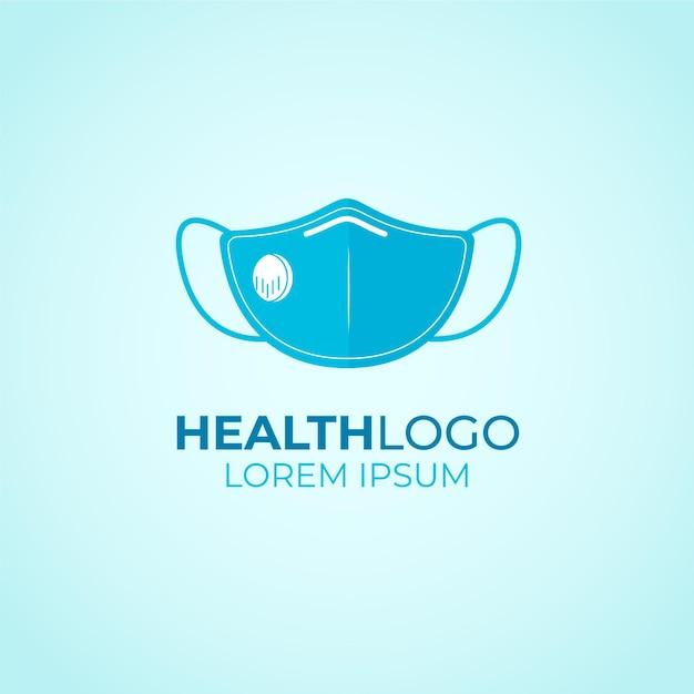 Gesichtsmasken-logo-konzept Premium Vektoren
