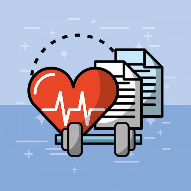 Gesundheit medizinisch Premium Vektoren