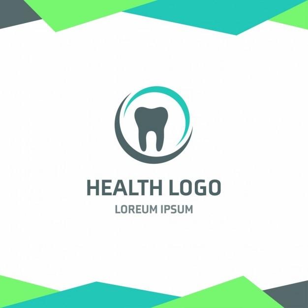 Gesundheit zahnarzt logo Kostenlosen Vektoren