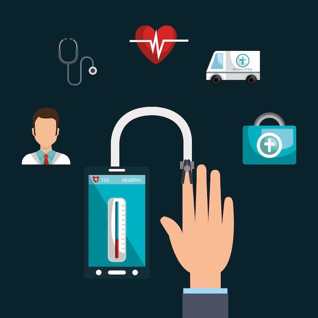 Gesundheitstechnologie-service Kostenlosen Vektoren