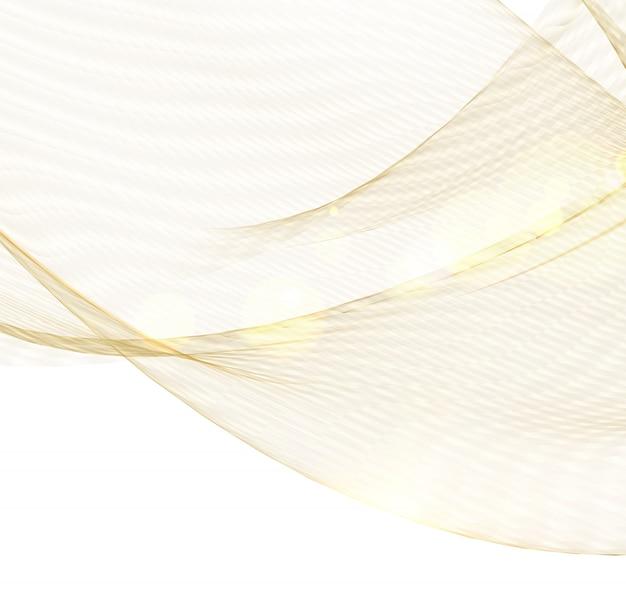 Gesundheitswesen komplexes konzept. strahlend goldene linien. beauty skin care design über goldenen polygonen. Premium Vektoren