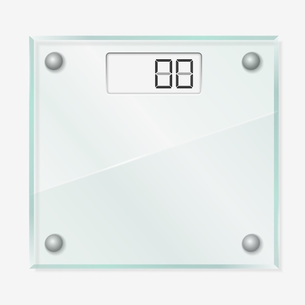 Glaswaagen Premium Vektoren
