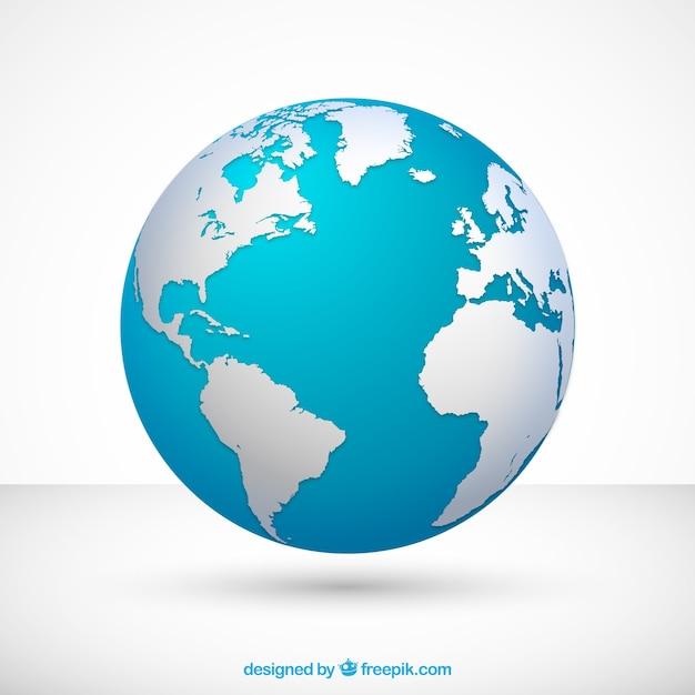 Globus Kostenlosen Vektoren