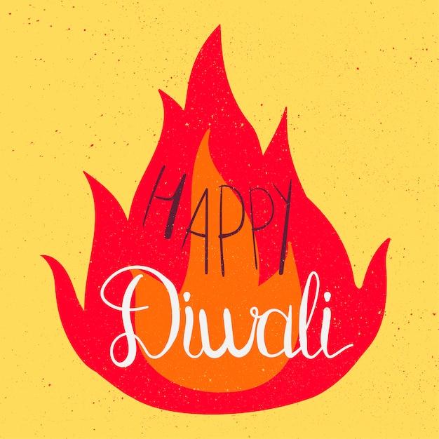 Glückliche diwali celebration banner Premium Vektoren
