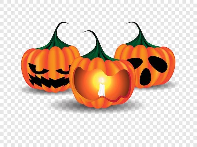 Glückliche halloween-plakat-illustration Premium Vektoren