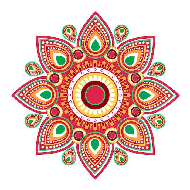 Glücklicher hinduistischer gruß-karten-feiertag ugadi gudi padwa Premium Vektoren