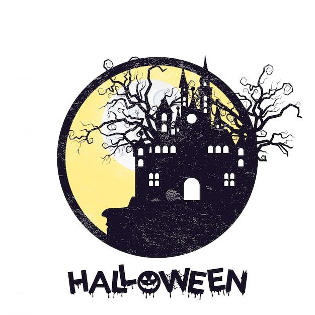 Glückliches halloween-design Kostenlosen Vektoren