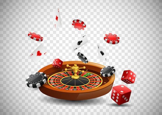 Glücksspiel Premium Vektoren
