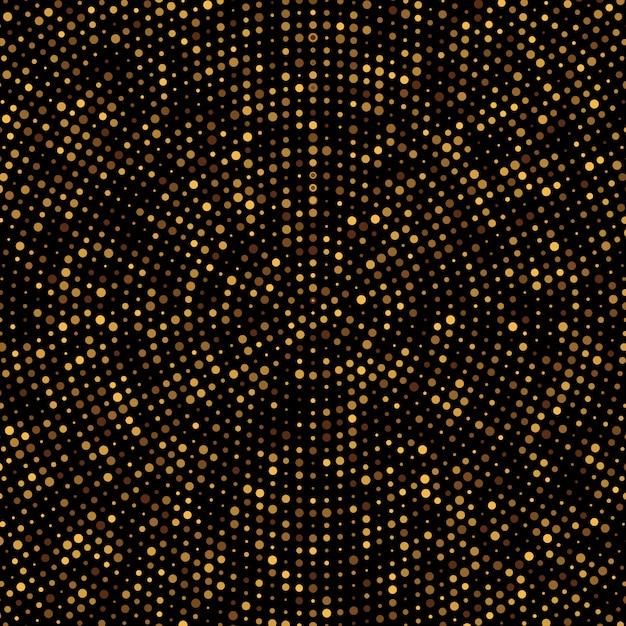 Gold disco glitter hintergrund. Premium Vektoren