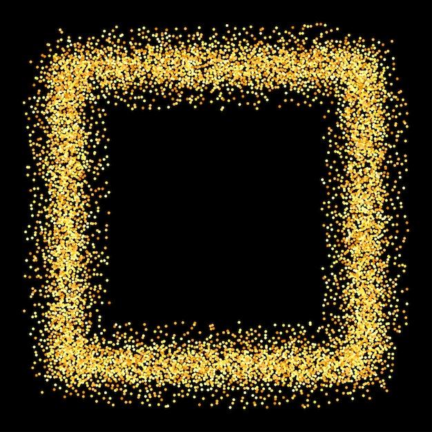 Gold funkelt glitzer hintergrund. Premium Vektoren