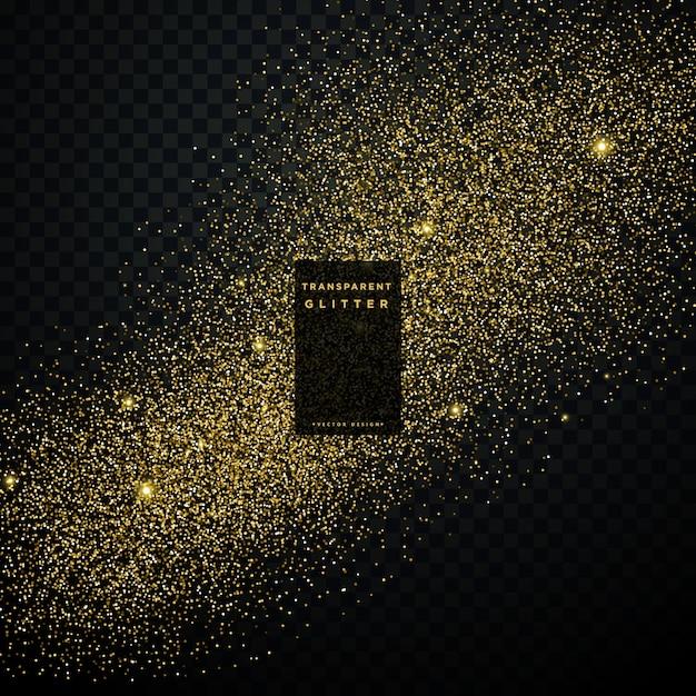 gold glitter konfetti explosion auf schwarz transparenten hintergrund download der premium vektor. Black Bedroom Furniture Sets. Home Design Ideas