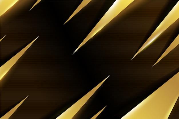 Gold luxus hintergrund design Kostenlosen Vektoren