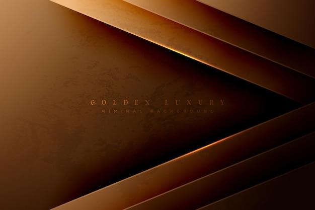 Gold luxus hintergrund thema Kostenlosen Vektoren