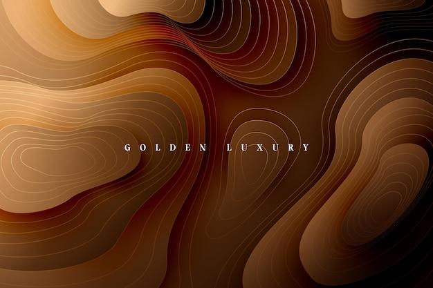 Gold luxus hintergrund Premium Vektoren