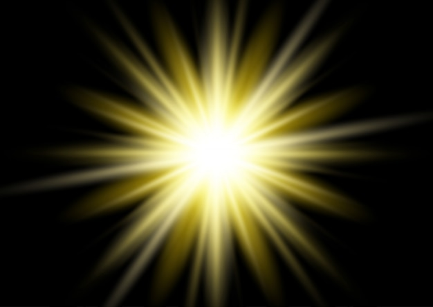 Gold starburst hintergrund Kostenlosen Vektoren