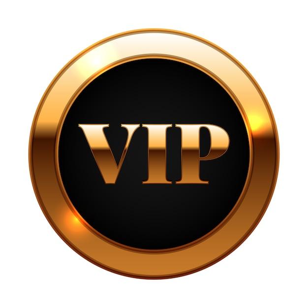 Gold und schwarz vip label Premium Vektoren
