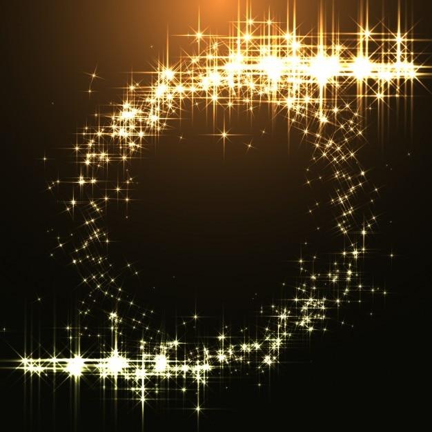 Goldene glänzt hintergrund Kostenlosen Vektoren