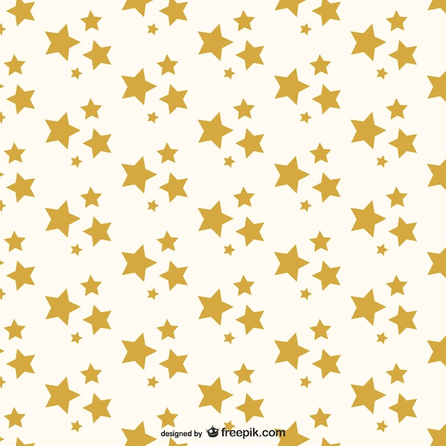 Goldene Sterne Muster   Download der kostenlosen Vektor