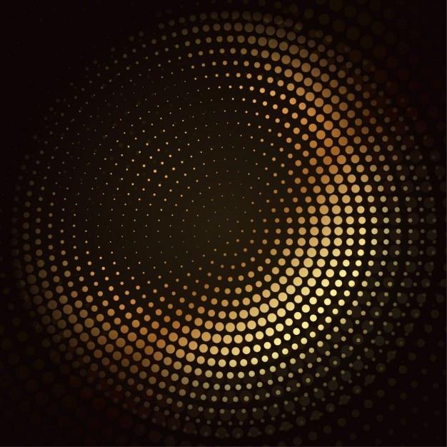 Goldenen mosaik halbton-vektor-design- Kostenlosen Vektoren