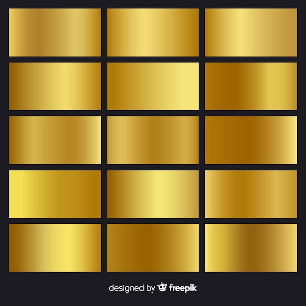 Goldener farbverlauf Kostenlosen Vektoren