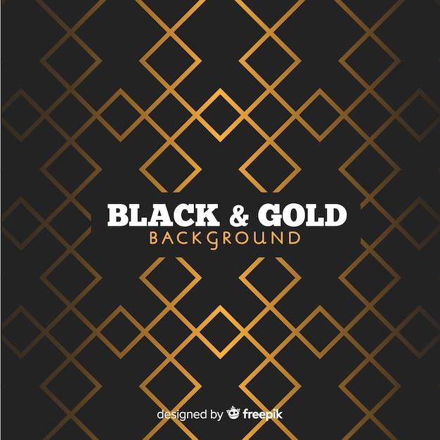 Goldener polygonaler hintergrund Kostenlosen Vektoren