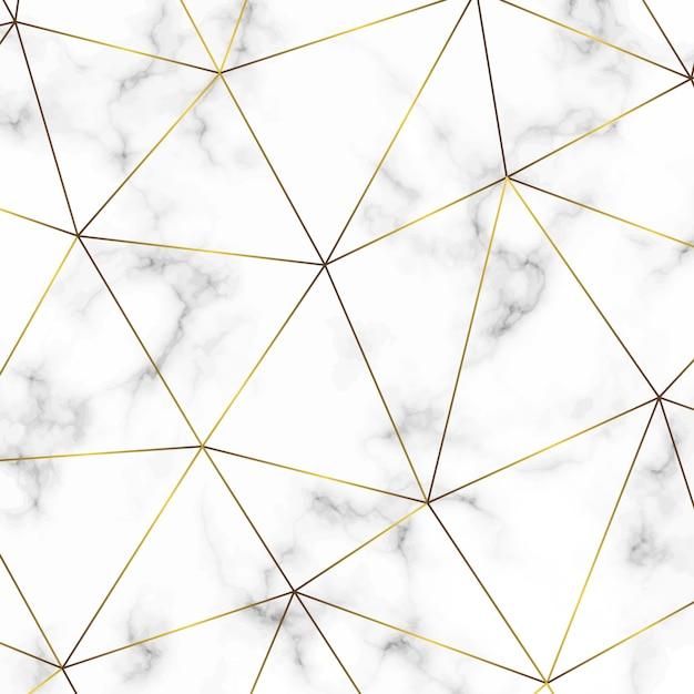Goldenes Geometrisches Abstraktes Muster Vorlage Für