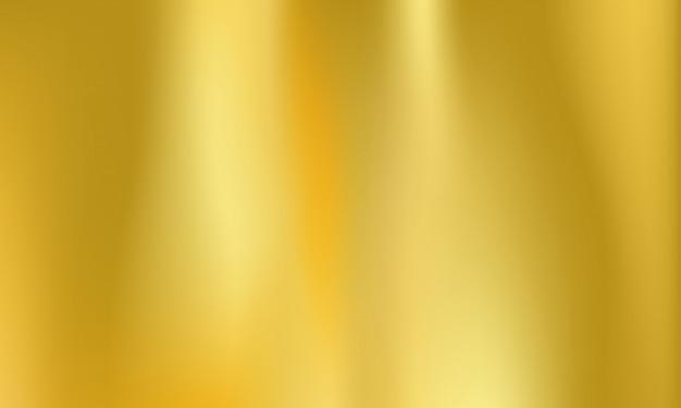 Goldfolie hintergrund goldenes metall holographisch Premium Vektoren