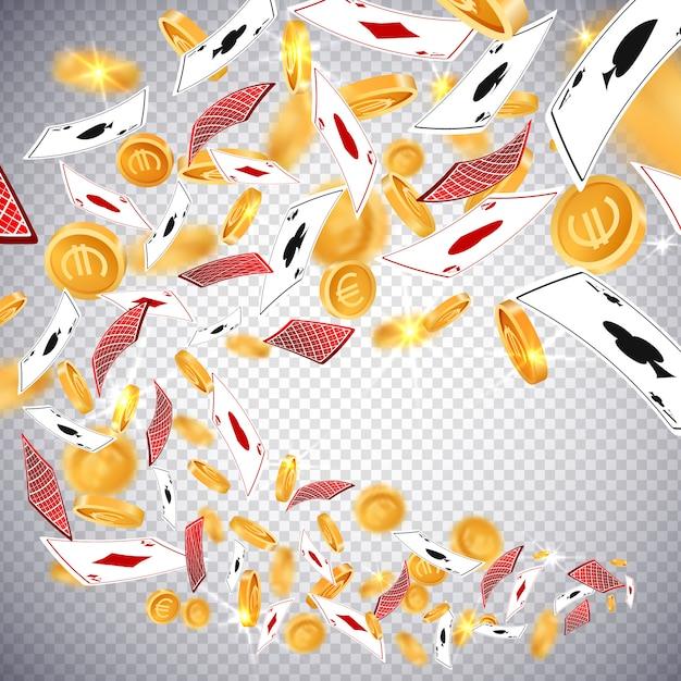 Goldmünzen des dollars 3d Premium Vektoren