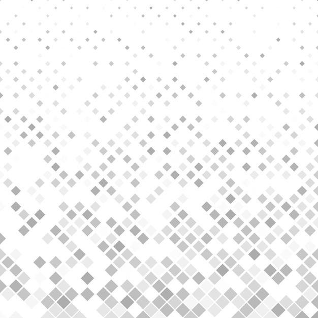 Grau quadratischen muster hintergrund - vektor-illustration Kostenlosen Vektoren