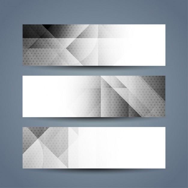 graue farbe polygon banner download der kostenlosen vektor. Black Bedroom Furniture Sets. Home Design Ideas