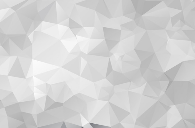 Gray polygonal mosaic paper background Premium Vektoren