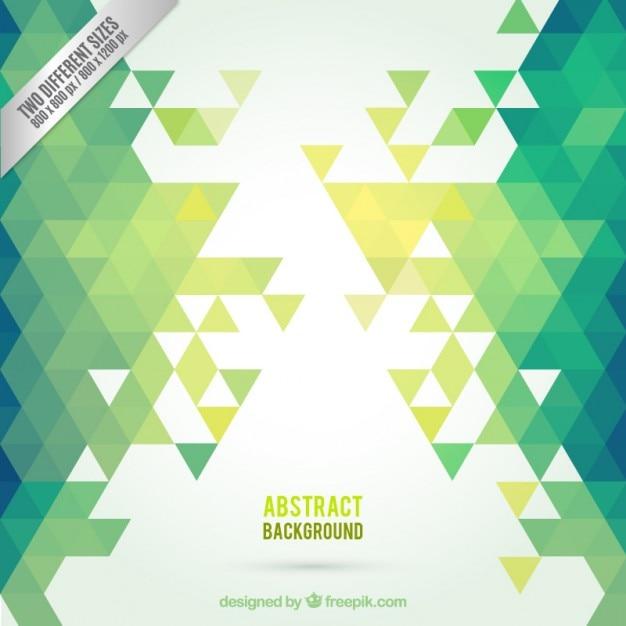 Green abstract background Kostenlosen Vektoren
