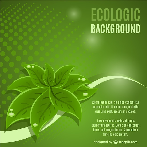 Green leaf hintergrund vektor Kostenlosen Vektoren