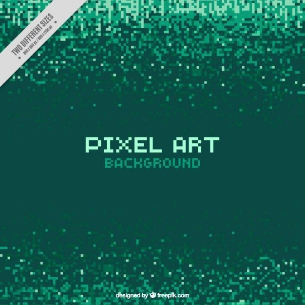Grüne pixel hintergrund Kostenlosen Vektoren