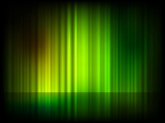 Grüner abstrakter glänzender hintergrund. Premium Vektoren
