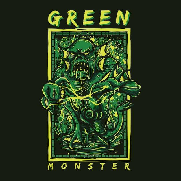 Grünes Monster