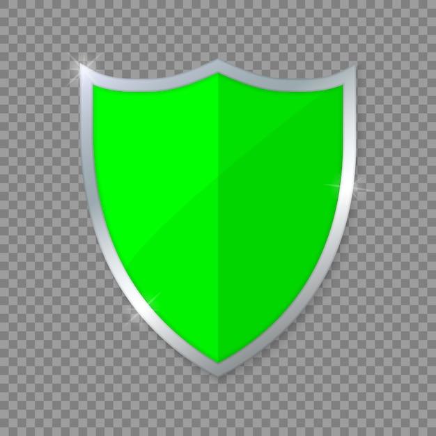 Grünes schild. Premium Vektoren