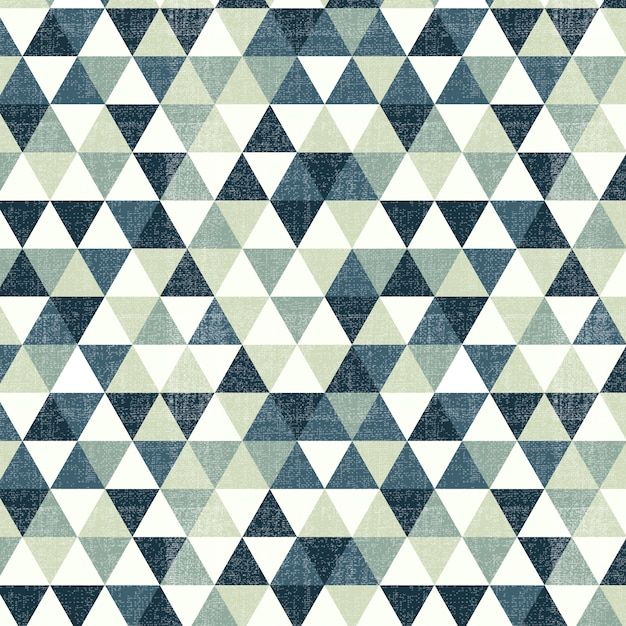 Grünes Dreieck Muster Kostenlose Vektoren