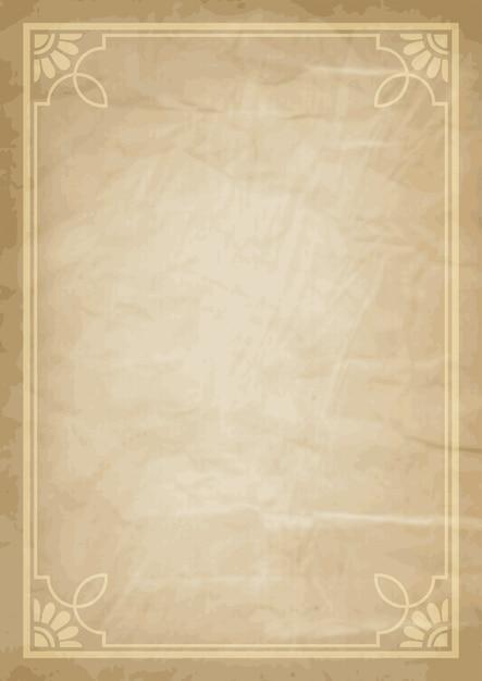 Grunge Hintergrund mit dekorativem Rahmen | Download der kostenlosen ...